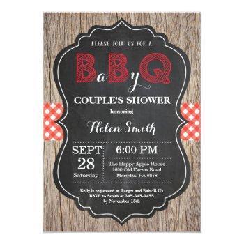 bbq baby shower invitation baby q backyard bash