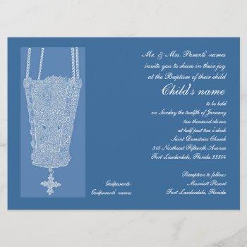blue kandili invitation