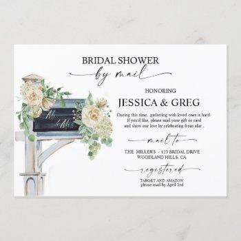 bridal shower by mail, long distance, bridal,  invitation