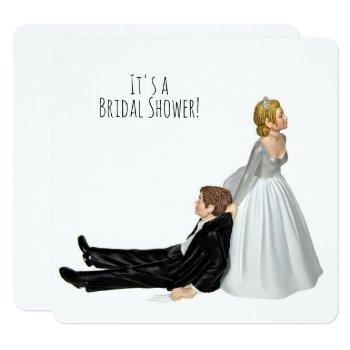 bridal shower humor invitation