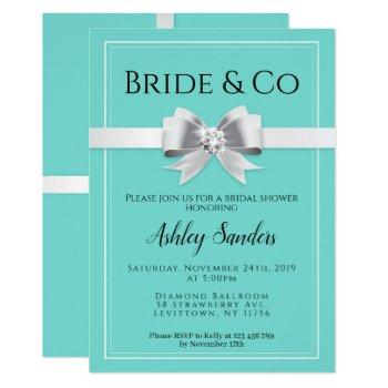bride & co. bridal shower invitation