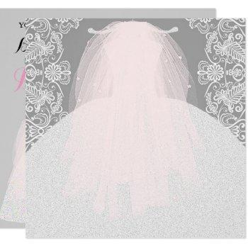 bride co something pink here comes the bride party invitation