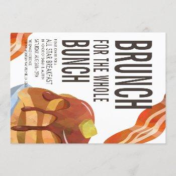 brunch for the bunch | breakfast gathering invite