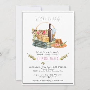 cheers to love | wine tasting bridal shower