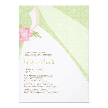 chic modern bride invitation