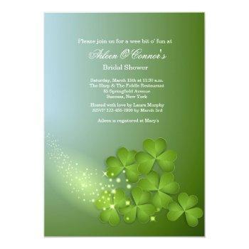 clover cascade invitation