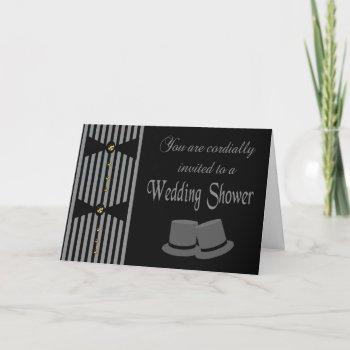 custom wedding shower invitation