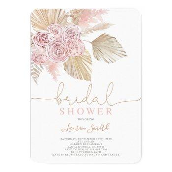 desert bridal shower invitation