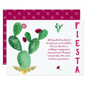 design own fiesta folk art wedding bridal shower invitation