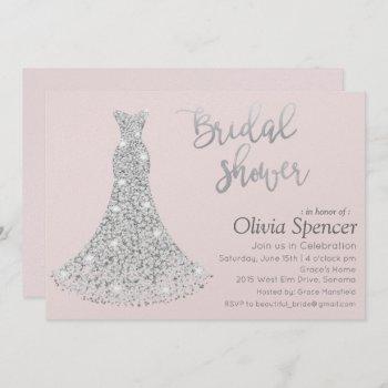 diamond bridal shower invitation