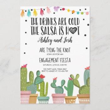 fiesta engagement invitation bridal shower couples