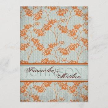 haiku bride wedding invitation card