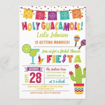 holy guacamole bridal shower fiesta invitation w