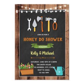 honey do shower invitation