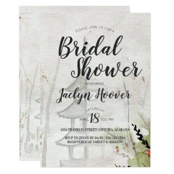 japanese pagoda bridal shower invitation