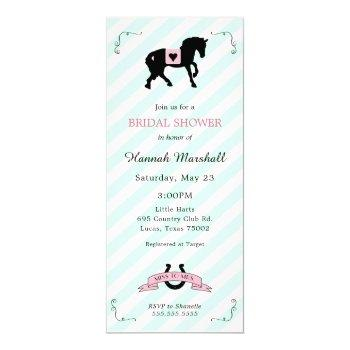 kentucky derby bridal shower invitation