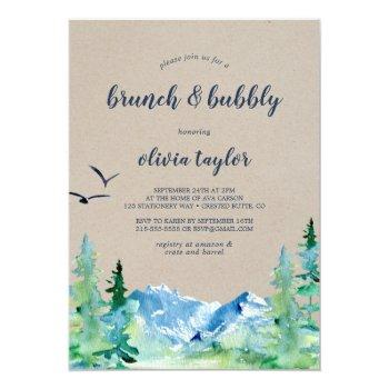kraft rocky mountain brunch and bubbly invitation