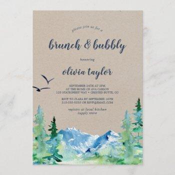 kraft rocky mountain brunch and bubbly invitation