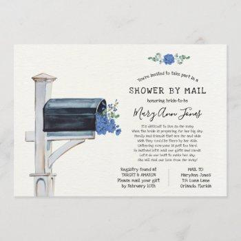 long distance bridal shower by mail invitation