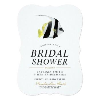 lucky tropics | bridal shower invitation