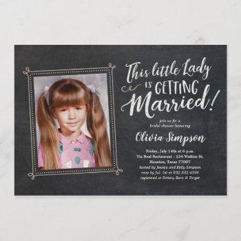 old photo funny bridal shower invitations