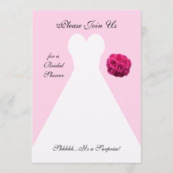 surprise bridal shower invitation