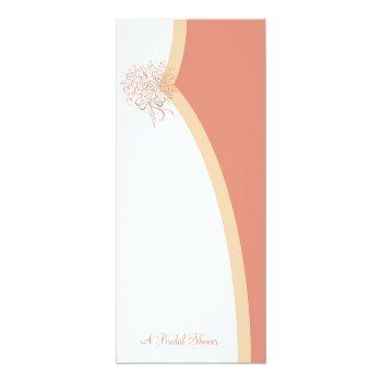 two brides bridal shower invitations