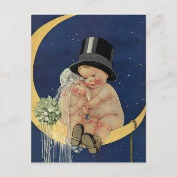 vintage wedding, cute retro bridal shower party invitation