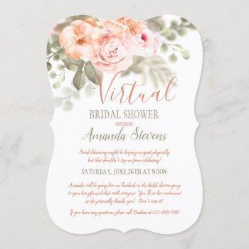 virtual bridal shower invitation
